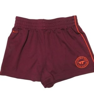 Nike Virginia Tech VT Shorts Womens XS 0-2 Running